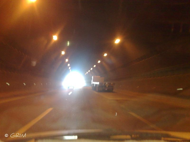 Alger-tunnel de Oued Ouchayah